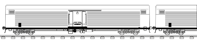 Wagon type: 1,520 mm private isotermic wagon